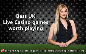 Best UK Live Casino games worth playing