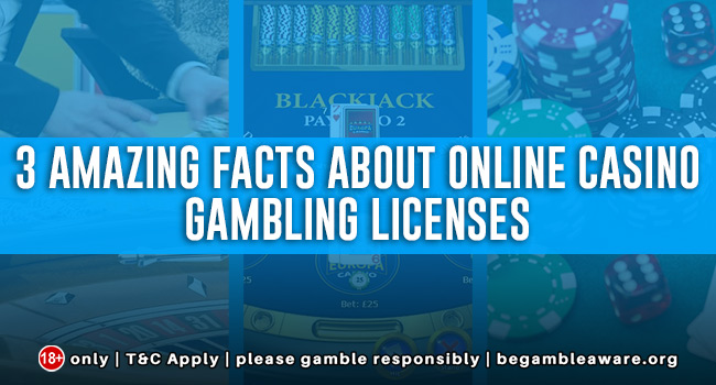 3 amazing facts about Online Casino Gambling Licenses
